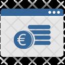 Euro Money Coins Icon