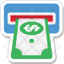 Cash Withdrawal Atm Icon