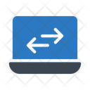 Transfer Exchange Laptop Icon