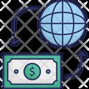Banking Credit Card Globe Icon