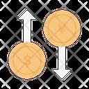 Transaction Exchange Money Icon