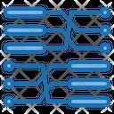 Transaction Big Data Blockchain Icon