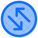 Directions Arrows Sign Icon