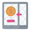 Transaction Cryptocurrency Bitcoin Icon