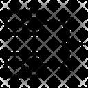 Transaction Block Chain Commerce Icon