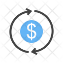 Transaction Dollar Currency Icon