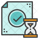 Transaction Confirmation Time Icon