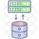 Transaction Data Networking Business Icon