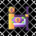 Transaction Limit Banking Icon