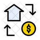 Transaction Banking Finance Icon