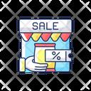 Transactional Marketing Transactional Sale Icon