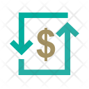 Transcation Dollar Convert Icon