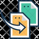 Transfer Exchange File Icon