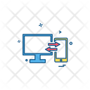 Transfer Technology Computer Icon