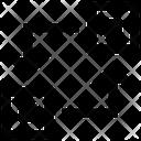 Network Transfer Transmit Icon