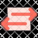 Transfer Sharing Arrow Icon