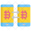 Transfer Bitcoin Icon
