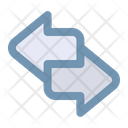 Transfer Exchange Transaction Icon