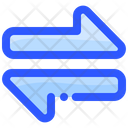 Transfer Data Money Icon