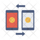 Transfer Exchange Currency Icon