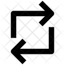 Arrow Change Loop Icon