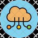 Transfer Data Cloud Icon