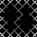 Arrow Exchange Sort Icon