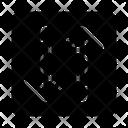 Transfer Arrow Web Icon
