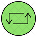 Transfer Direction Data Icon