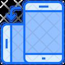 Transfer Mobile Smartphone Icon