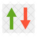Transfer Up Down Icon