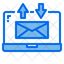 Laptop Mail Email Icon