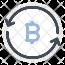 Transfer Bitcoin Sale Icon