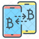 Bitcoin Cryptocurrency Peer Icon