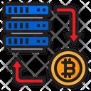 Transfer Bitcoin Server Icon