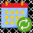 Transfer Calendar Refresh Calendar Transfer Icon