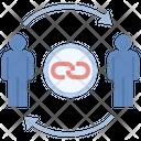 Transfer Chain Icon