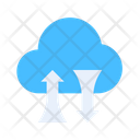 Transfer Cloud Icon