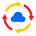 Transfer Cloud Data Transfer Network Icon