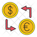 Transfer Exchange Money Icon