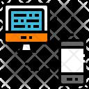 Transfer data Icon