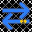 Transfer Data Transaction Icon