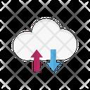 Cloud Computing Connectivity Icon