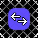 Transfer Data Direction Arrow Icon