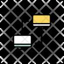 Transfer Data Computer Icon