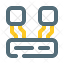 Transfer data digital connection Icon
