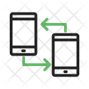 Transfer Connected Data Icon
