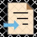 Transfer Document Icon