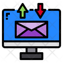 Monitor Mail Email Icon