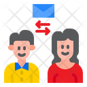 Transfer Email Transfer Mail People Icon